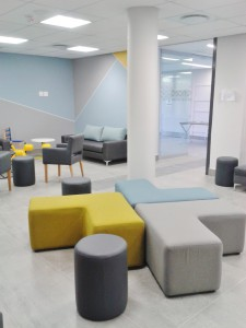 hospital panorama upstart office waiting room interior design