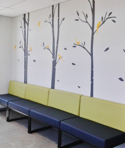 panorama hospital reception area upstart office interior design