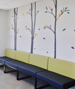 panorama hospital reception area upstart office interior design