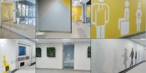 hospital wall art interior design