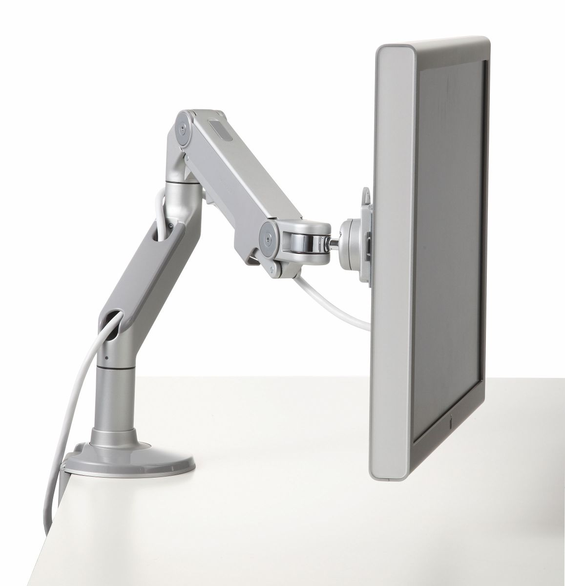 M8 Silver 2400 Monitor Arm Upstart Officeupstart Office