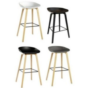 CC Replica Stool with interchangeable seats and backs