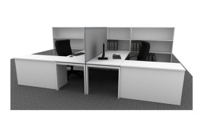 Clerical Workstation Upstart Office 3