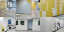 hospital wall art interior design